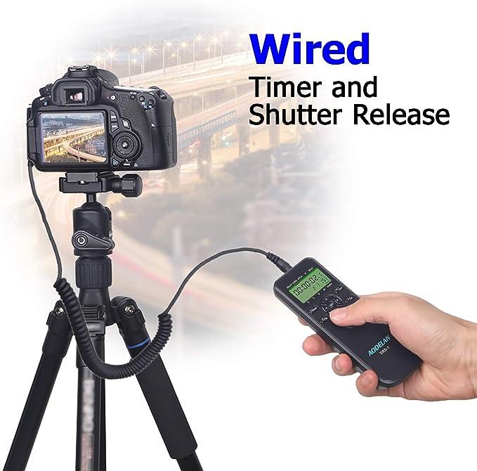 Digital Camera Accessories Electronics Timer Remote Shutter ...
