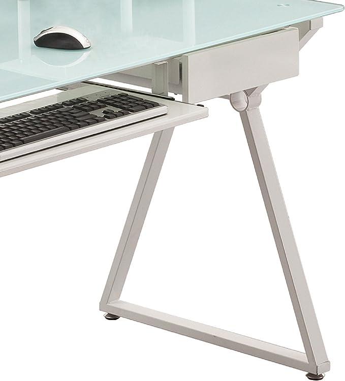 Mesa escritorio para ordenador con ruedas o pies. Modelo Laptop ...