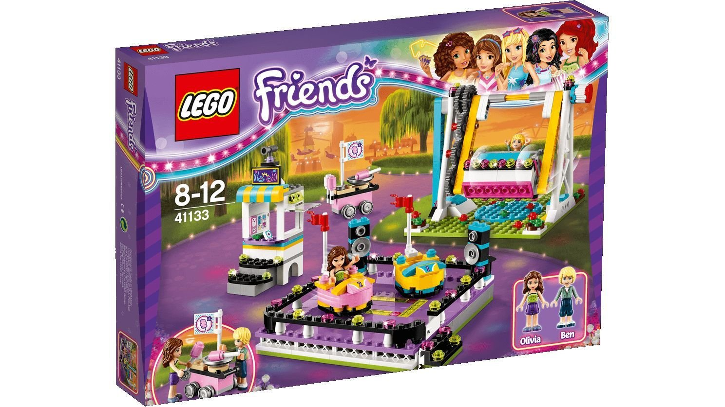 Lego Friends 41133 - L'autoscontro del parco divertimenti per 37,97€  - inclusa spedizione [amazon.co.uk]