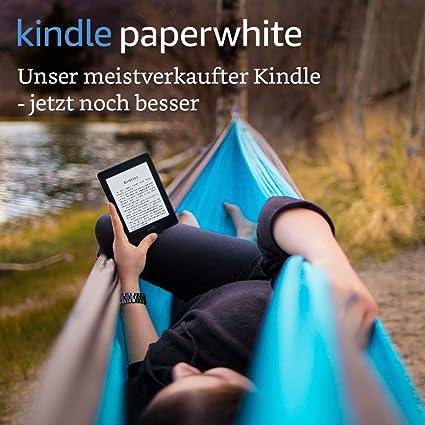 Kindle Paperwhite Vorgängermodell 7 Generation 6 Zoll 15 Cm Großes Display Integrierte Beleuchtung Wlan Schwarz Mit Spezialangeboten Amazon Devices