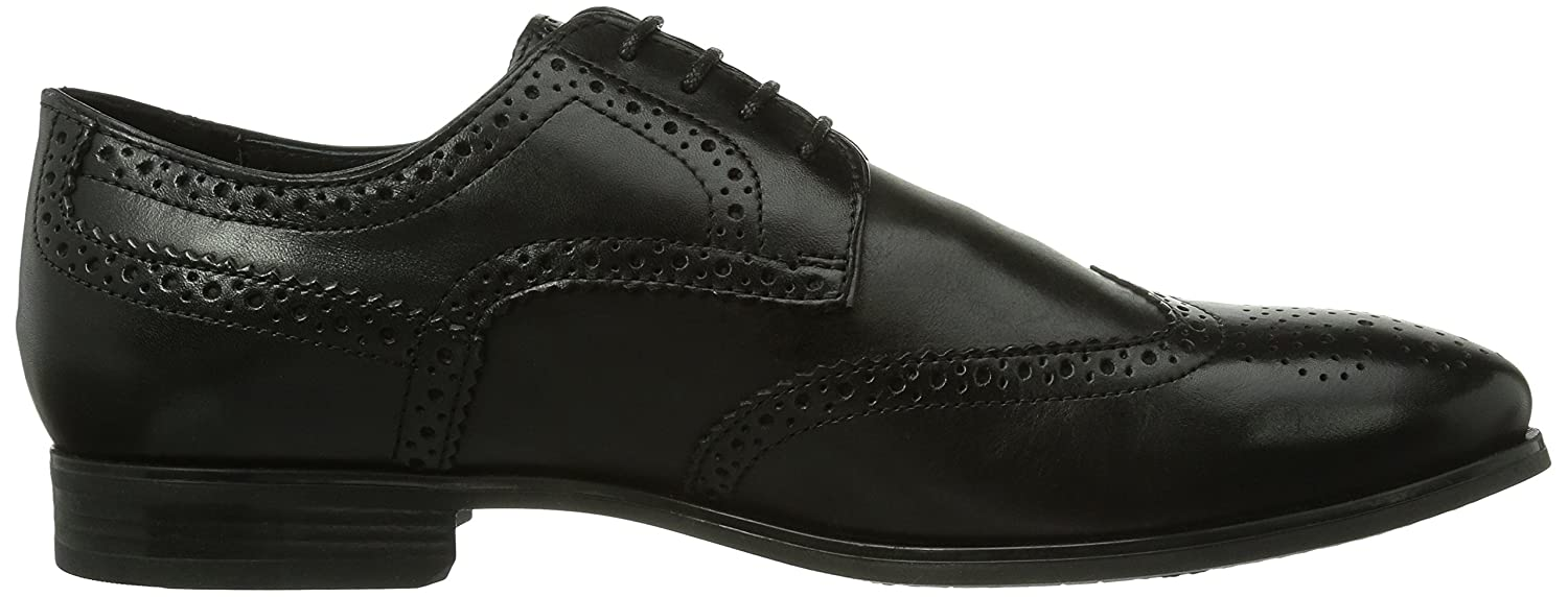 e5c12fb1164f5 Geox Men s U ALBERT 2FIT B Brogue Lace-Up Half Shoe  Amazon.co.uk  Shoes    Bags