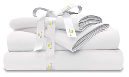 Amazoncom Organic Cotton Bed Sheets Set 500tc King Size Ultra