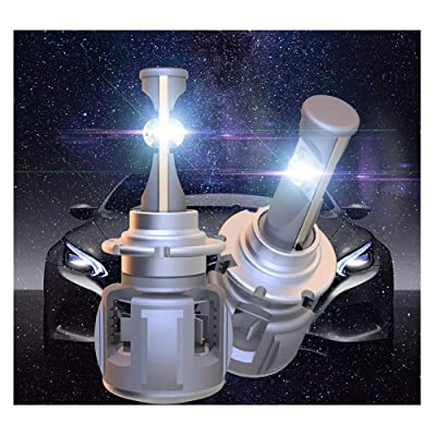 120W 12000LM Super Bright LED Headlight Conversion Kit D2S LED Bulbs 6000K Xenon White D4S D4R D2R D4C LED Kit Replace HID 2 Year Warranty: Automotive