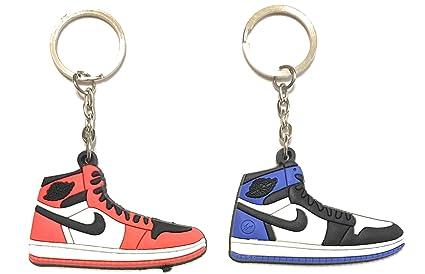 WeTheFounders Zapatos Sneaker Llavero AJ-1 Retro 2 Pack ...