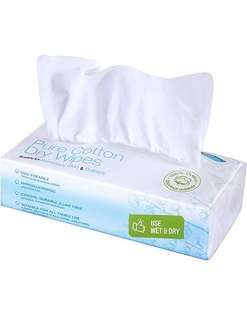 Ivyone - Toallitas secas de algodón puro Talla:1 pack