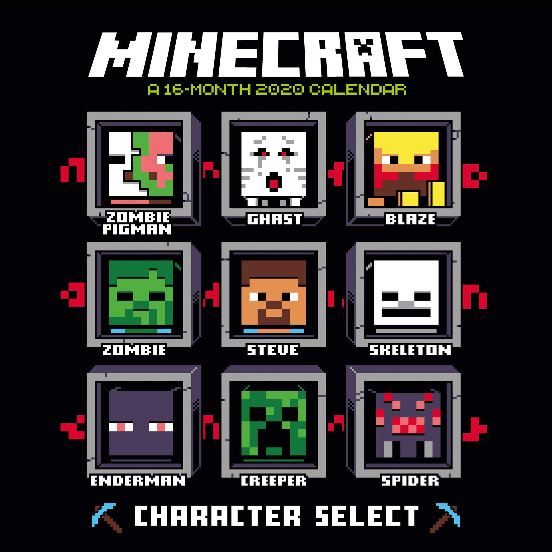 Minecraft 11 Calendar - Official Square Wall Format Calendar
