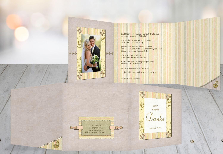 Kartenparadies Danksagung für Hochzeitsgeschenke Hochzeit Dankeskarte Bund für's Leben, hochwertige hochwertige hochwertige Danksagungskarte Hochzeitsglückwünsche inklusive Umschläge   20 Karten - (Format  145x145 mm) Farbe  OckerBeige B01MZCCBE4 | Won h 271399