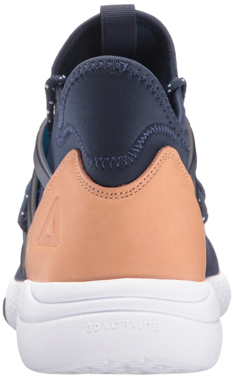 Reebok Women's Hayasu Training Shoe B01HH3FQ6A 11 B(M) US|Collegiate Navy/White/Veg Tan