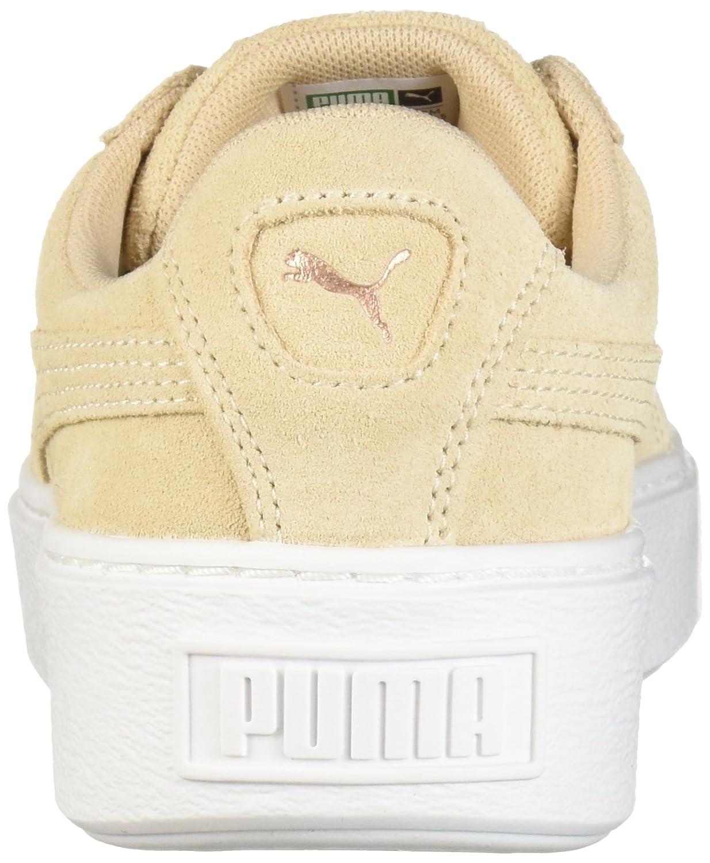 PUMA Women's 10.5 Suede Platform Lunar Lux Wn Sneaker B0756HTQK3 10.5 Women's B(M) US|Cream Tan 5ec058