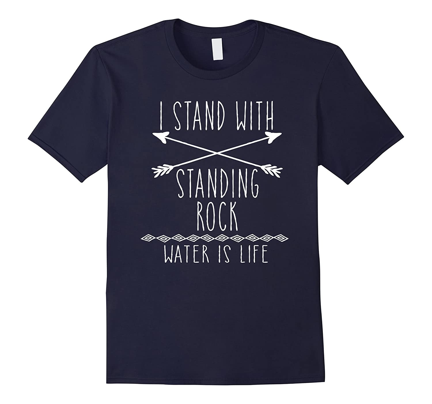 I Stand with Standing Rock Tshirt-TD