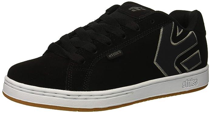 Etnies Fader Sneakers Skateboardschuhe Herren Schwarz Weiß Gum