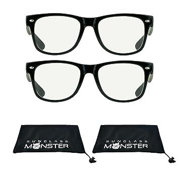 2438cf545c Amazon.com  2 Pairs Vintage Retro Inspired Reading Glasses