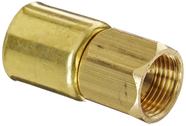 3//8 Hose ID EATON Weatherhead Coll-O-Crimp 33806P-406 SAE 45 Degree Female Swivel Fitting CA360 Brass 3//8 Tube Size 3//8 Hose ID 3//8 Tube Size