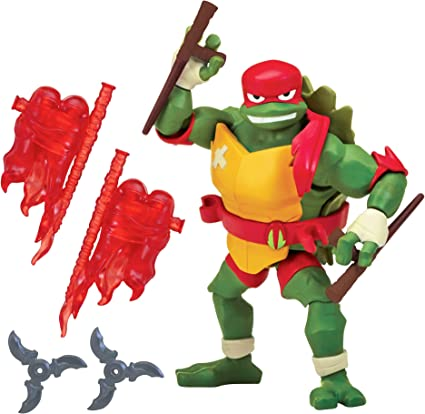 Amazon.com: Figuras de acción de TMNT, Raphael, Multicolor ...
