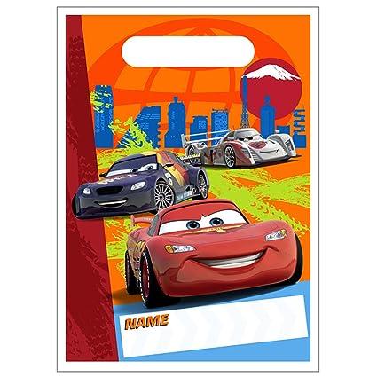 Amazon.com: Disney s Cars 2 – bolsas de dulces para fiestas ...