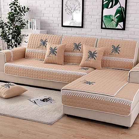 DUANGONGZI Fundas De Sofas Chaise Longue,Funda de sofá de ...