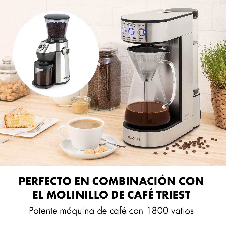 Klarstein Perfect Brew - Jarra de café, Con asa, escala de llenado ...
