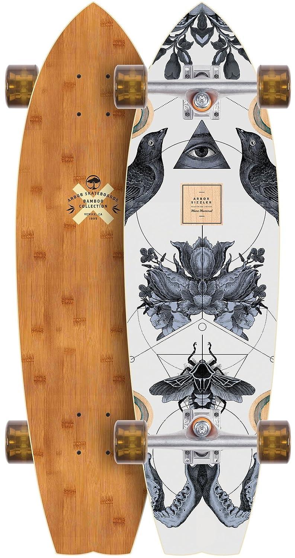 素晴らしい価格 Arbor Sizzler Sizzler Bamboo Arbor 2017ロングボードスケートボード完成 Bamboo B01N0OUFX8, はせがわ酒店:3a0517d8 --- a0267596.xsph.ru