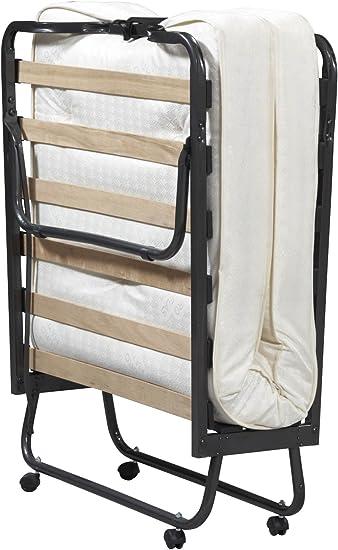 Amazon Com Linon Home Dcor Luxor Memory Foam Folding Bed Mattress