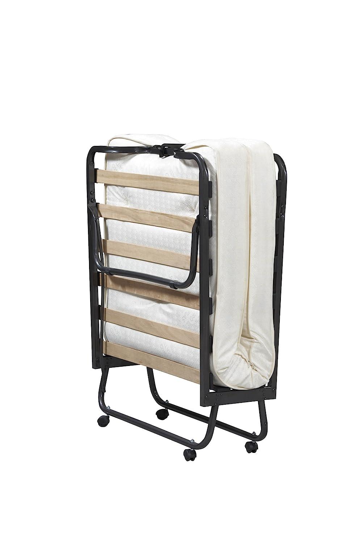 Linon Home Dcor 352STD-01-AS-UPS Linon Home Decor Luxor Folding Bed with Memory Foam, Twin, Beige