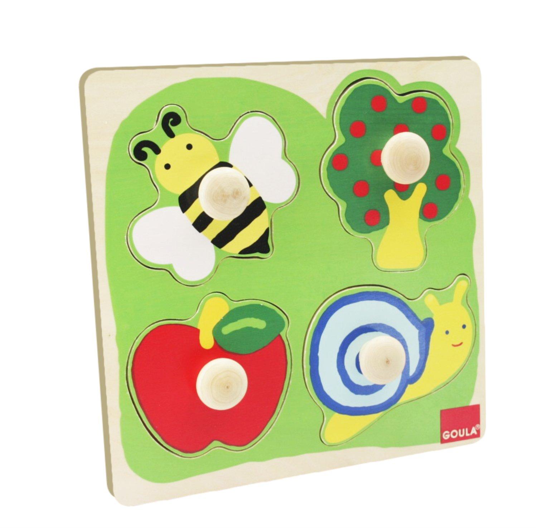 Goula puzzle 10 piezas de madera Diset 53108 Vestir ni/ña