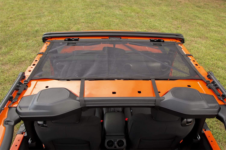 Rugged Ridge 13579.74 Eclipse Sun Shade, Front, Black 18-19 Jeep Wrangler JL 2-Dr