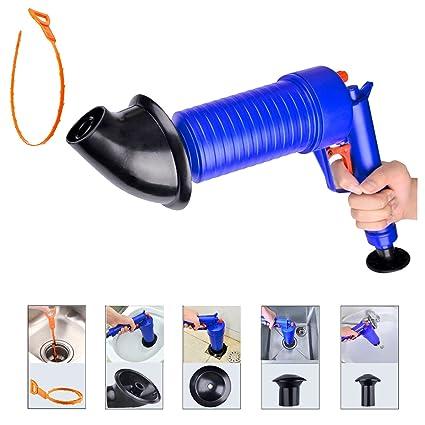 Amazon.com: Toilet Plunger Avesfer Drain Blaster Cleaner Gun Air ...