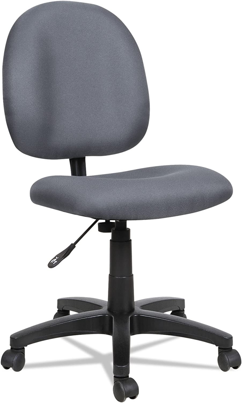 Alera Essentia Series Swivel Task Chair, Acrylic, Gray