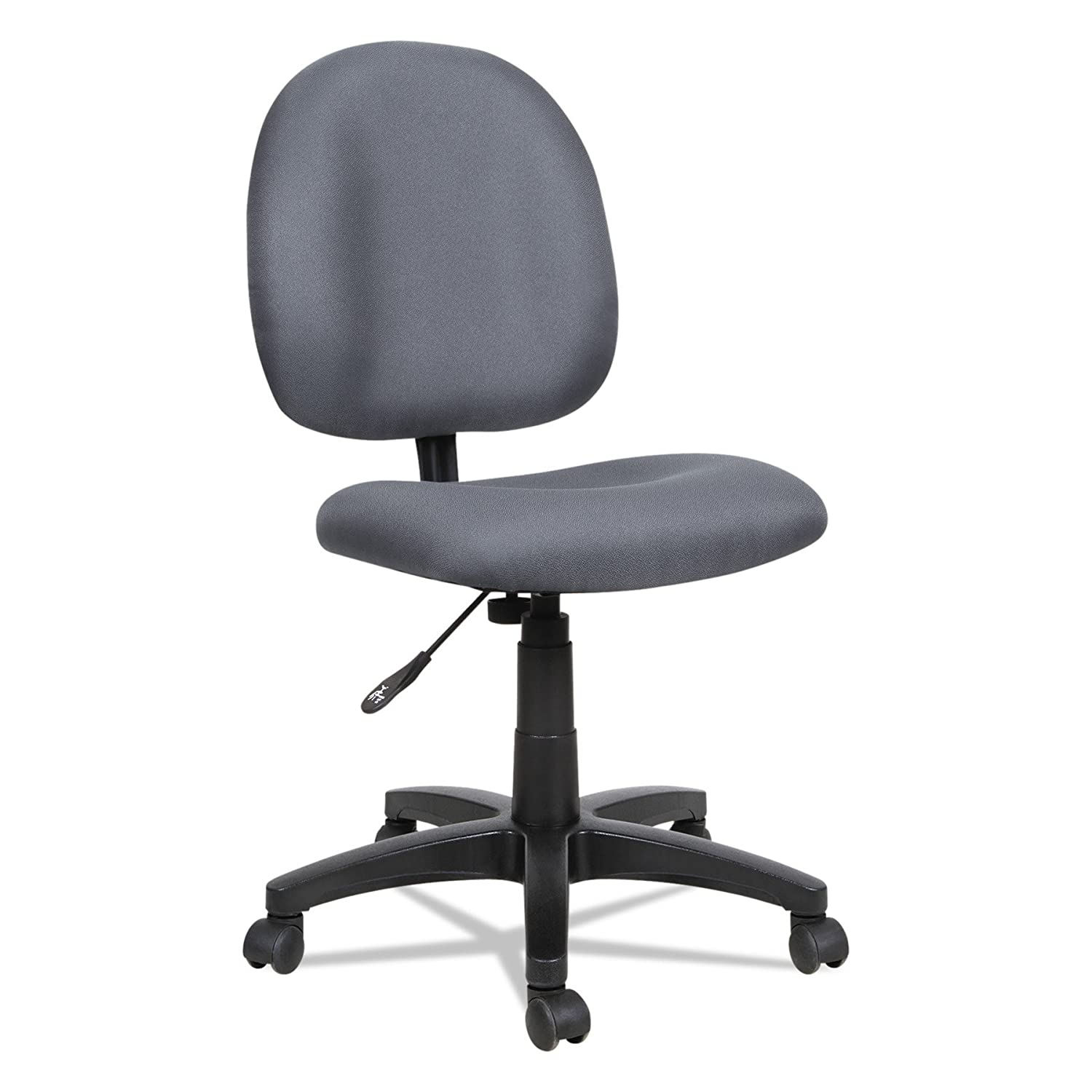 Alera ALEVT48FA20B Essentia Series Swivel Task Chair, Acrylic, Blue United Stationers - DROPSHIP