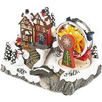 The Christmas Workshop - Figura Decorativa para Llantas