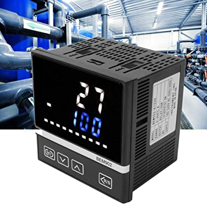 180-240VAC Thermostat Controller K-Type LED Digital Display Temperature Controller Relay//SSR Output 0-400℃
