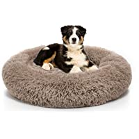 Long Plush Comfy Calming & Self-Warming Bed for Cat & Dog, Anti Anxiety, Furry, Soothing, Fluffy, Washable, Abbyspace…