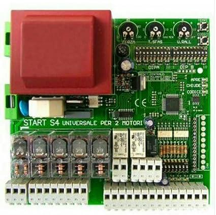 Schema Elettrico Per Automazione Cancello : Nologo centrale universale per cancelli automatici battenti a