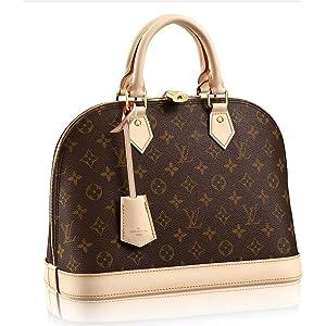 375e5d0f2cb Authentic Louis Vuitton Monogram Canvas Alma PM Tote Handbag Article M53151  Made in France