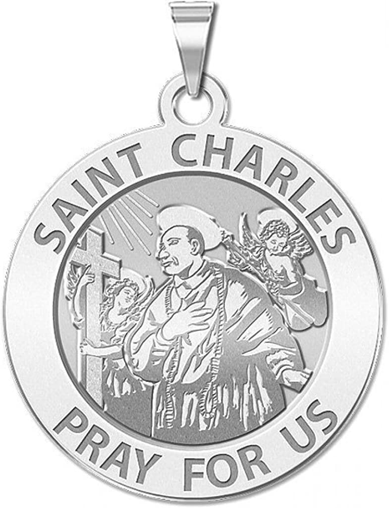 PicturesOnGold.com Pope Saint Pius V or Sterling Silver Available in Solid 14K Yellow or White Gold