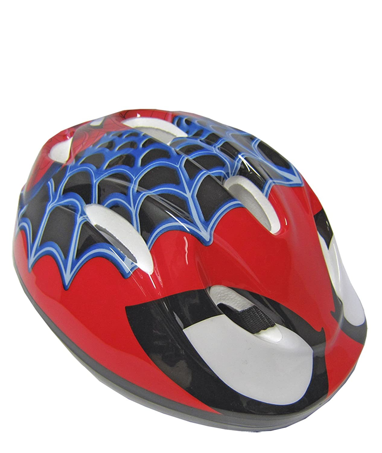 Toim Spiderman Casco, Color Rojo/Blanco/Negro/Azul, 50 centimeters/56 Centimeters (85-10860): Amazon.es: Juguetes y juegos