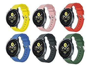 SongNi® for Samsung Galaxy Watch Active Straps Correas(Chuan ...