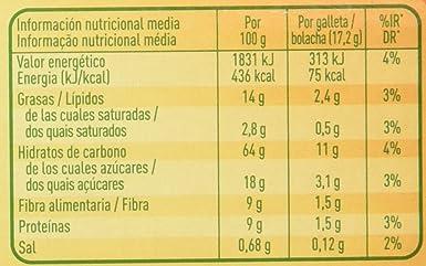 Cuetara - AvenaCol - Galletas digestivas - 300 g - [Pack de 5]: Amazon.es: Alimentación y bebidas