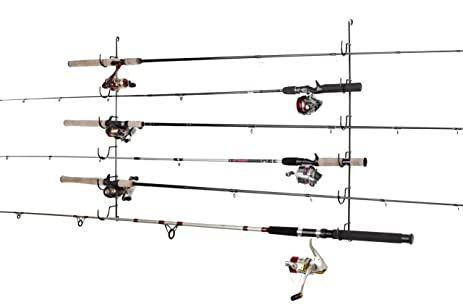 Fishing Rod Rack Horizontal