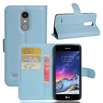 Guran® Funda de Cuero PU Para LG K4 2017 Smartphone Función de ...