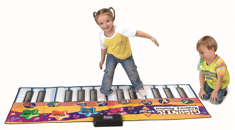 3 Piano Keyboard Dancing Musical Mat Electronic for Kids Game Touch Sensitive