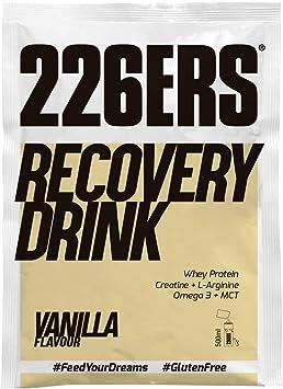 226ERS Recovery Drink Monodosis | Recuperador Muscular con Proteína Whey, Creatina, Hidratos de Carbono, Triglicéridos y L-Arginina, Sin Gluten, ...