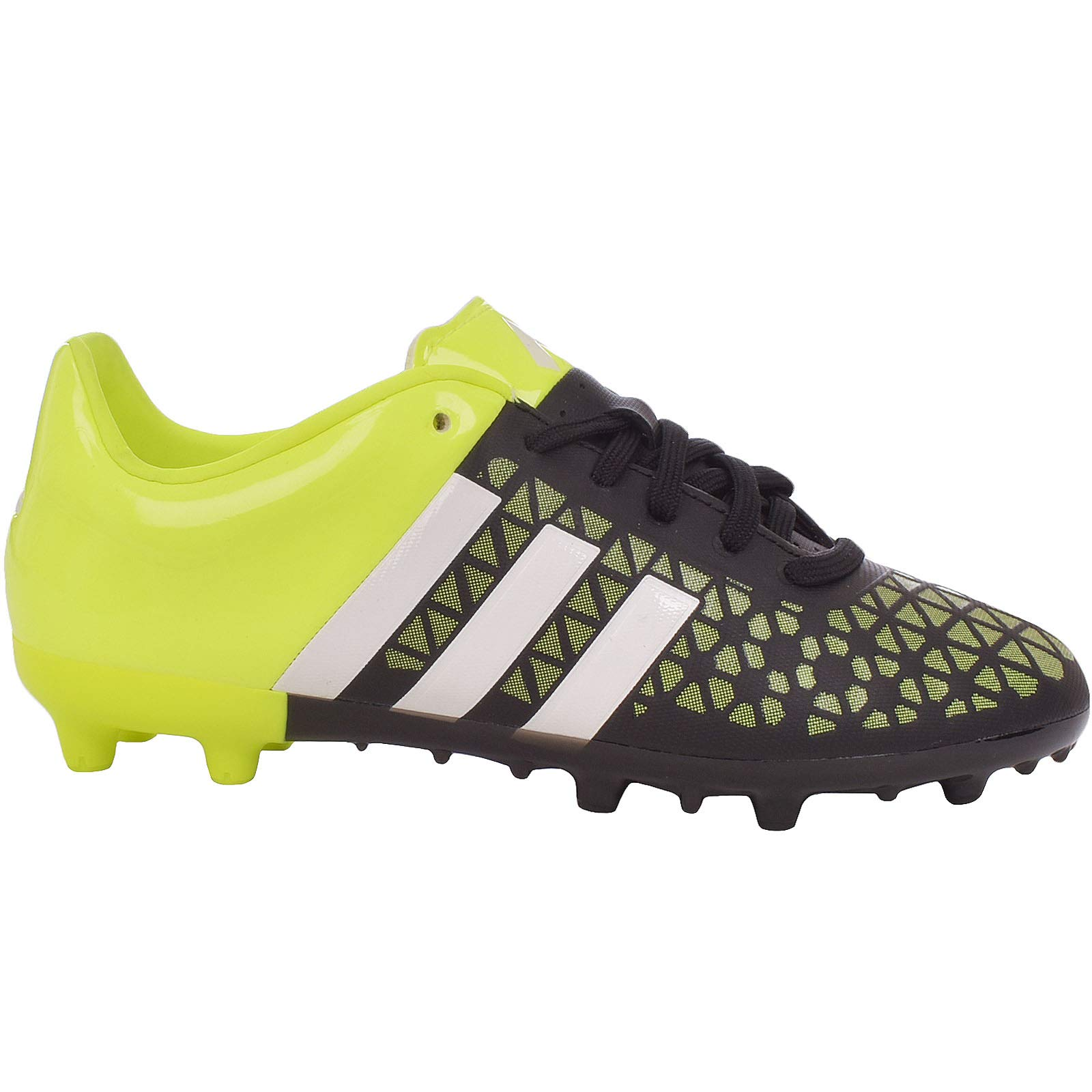 adidas Performance Boys ACE 15.3 FG/AG Junior Football Boots - 6 Black