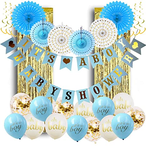 Amazon Baby Shower Decorations For Boy Its A Boy Baby Shower