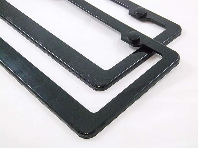 ClustersNN Bhartia Sassenach Outlander Themed Chrome License Plate Frame Stainless Metal Tag Holder 12 X 6
