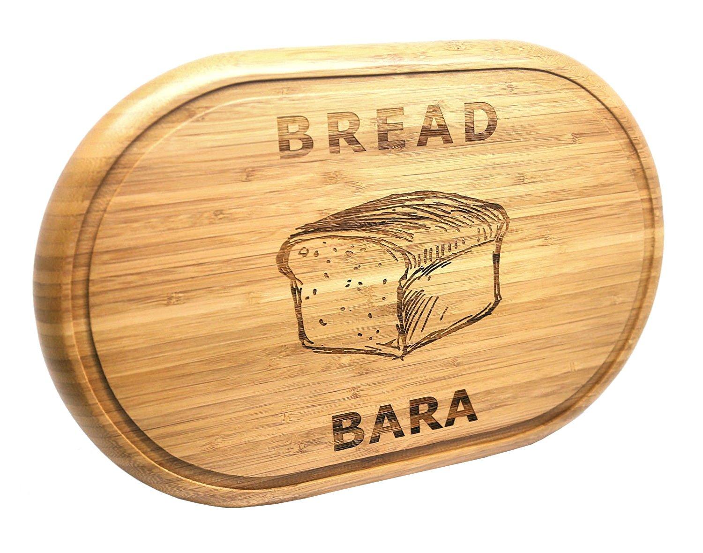 Compra Pan de bambú Oval Grande (Bara) tablero, grabado regalo de ...