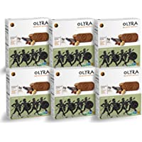Olyra: Organic Carob Hazelnuts Breakfast Biscuits - Non-GMO - All Natural Ingredients - Made With Ancient Greek Whole Grains - Sustain Energy Levels - Plant Based - 6 Boxes (24 Packs, 3 Biscuits/Pack)