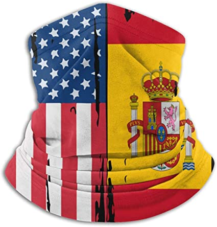Máscara de la bandera de España para hombre y mujer, resistente al viento, polainas para cuello: Amazon.es: Deportes y aire libre
