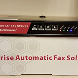 Amazon Com Cimfax A5 Paperless Fax Machine Send Fax From Pc Mobile Phone Via Fax Line 24 7 Anytime Anywhere Fax Remotely Fax Server 5 Users Fax2email Electronics