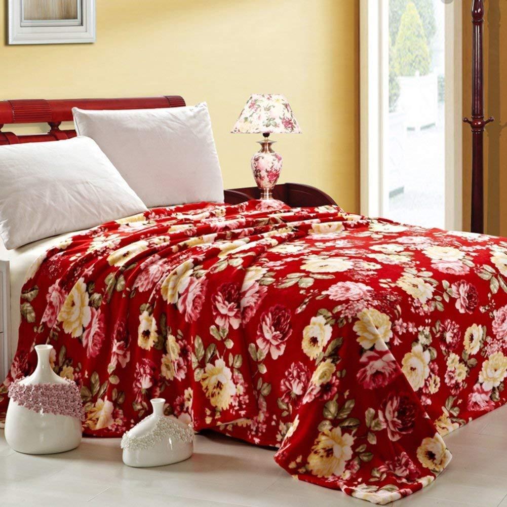 Shangxiangtrade ベッドシートの冬の厚くされたフランネルの綿毛布、暖かい単一の二重タオルのキルト毛布 (Color : 150*200cm(59x79inch), サイズ : J) B07T719FZK 150*200cm(59x79inch) J